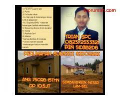 Dijual perumahan flpp bersubsidi murah dan asri di sidosari natar Lampung