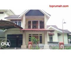 Rumah elit di Pontianak komplek BaliAgung 2 posisi di blkng mall