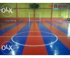 Jual Lapangan futsal + ruko 2 lantai sekaligus daerah desa kapur