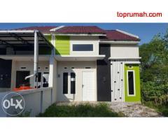 Rumah purnama agung 7 type 60++ kamar tidur 2 . wc 2 PDAM lancar