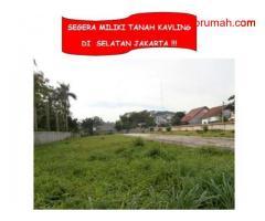 DIJUAL TANAH KAVLING DI SELATAN JAKARTA