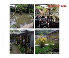 Jual Tanah Dan Bangunan Pemancingan Di Sumber-Cirebon