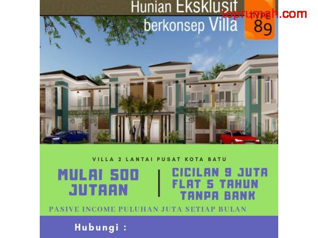 Perumahan Modern Nyaman, Sejuk Daerah Batu Malang