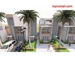 Villa Mewah 3 Lantai Ekslusif Ada Kolam Renang View Pegunungan Daerah Batu Malang