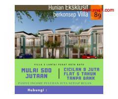 Perumahan Modern Konsep Villa Di Kota Batu Malang