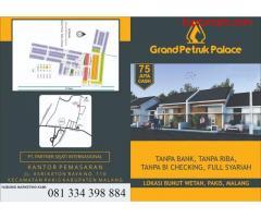 Rumah Baru Full Syariah Grand Petruk Palace