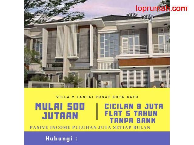 Dijual Perumahan 2 Lantai Konsep Villa Di Batu Malang