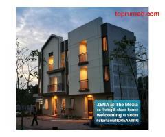 Dijual rumah usaha 3lantai/Co living Zena BSD Serpong