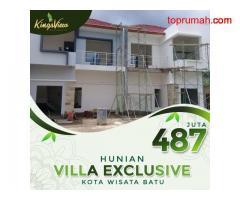 hunian konsep villa 2lantai view exclusive
