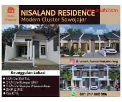 Perumahan Modern dekat SMK 9 Malang Nisaland Residence