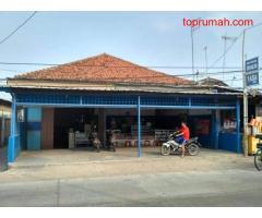 Dijual rumah dan toko (menyatu) dekat pelabuhan internasional patimban