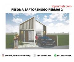 Perumahan Eksklusif Modern Pesona Saptorenggo permai 2
