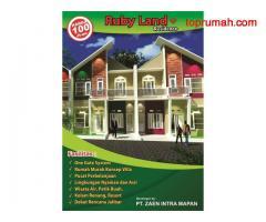 Perumahan berkonsep villa 100 jutaan Ruby Land Residence