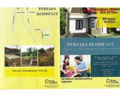 Perumahan pilihan dengan harga impian Persada Residence