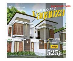 Promo Rumah 2 Lantai Strategis Dekat Jalan Raya Jawara Land Malang