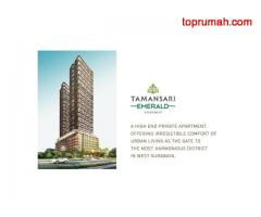 Welcome to Tamansari Emerald, a high end premium apartment, offering irresistible comfort of urban l
