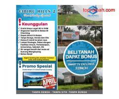 Tanah kavling Cibiru Hills 2 dengan Angsuran Syariah/Cash Keras/Cash Bertahap