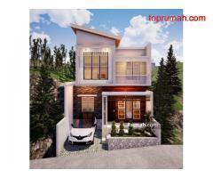 Perumahan 2 Lantai Konsep Villa Lokasi Strategis Di Sky Park Kota Batu
