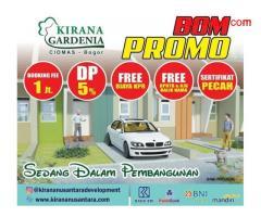 Kirana Gardenia Ciomas, Rumah Minimalis Baru di Ciomas Bogor MD747