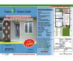 Rumah TAMAN MUTIARA INDAH HADIR UNTUK ANDA TANPA UANG DI MUKA FREE