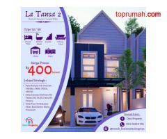 La Tansa 2 Rumah Eropa Style Siap Bangun Daerah Merjosari Kota Malang