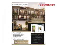 Rumah Fasilitas Smart Home 1 Menit Ke Exit Tol Pakis D'Natrama