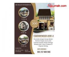 Rumah Modern Di Singosari Dekat Malang Strudel Candirenggo Asri 4