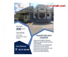 Rumah Mewah Selangkah Dari SMPN 23 Kota Malang Grand Kelapa Garden
