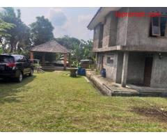 Dijual Tanah Luas Beserta Bangunan di Tamansari, Ciapus Bogor PR1720