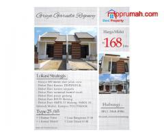 Rumah Siap Huni Bersubsidi 100 Jutaan Griya Garuda Regency