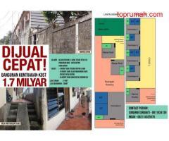 Dijual Rumah Kontrakan Dan Kost di Citayam Raya, Depok P1294