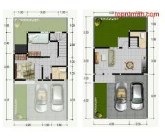Jual Rumah Baru Minimalis Lantai 2 murah diDawas