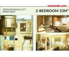 Best Deal! Apartemen Green Pramuka, Diskon up to 200 Jutaan MD781