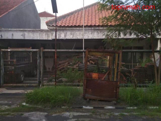 Rumah Dijual Harga Tanah Saja di Gayungsari Barat, Surabaya P0209