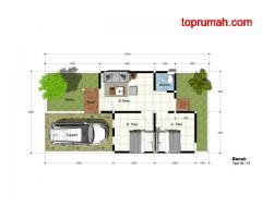 Rumah Cluster Murah Griya Garuda Regency 200 Jtan Dekat Kantor Terpadu