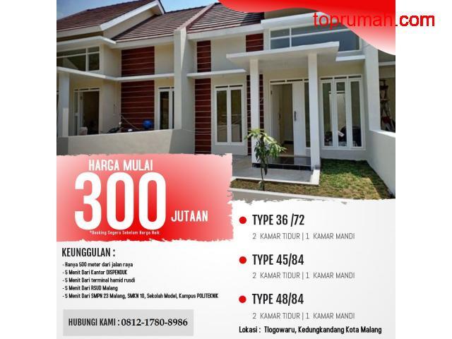 Rumah Murah Ready Stock Griyeda Jannati 300 Jutaan Dekat Dispenduk