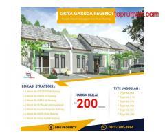 Promo 30 Jt Dapat Rumah Di Timurnya Pasar Gadang Griya Garuda
