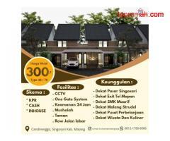 Rumah Murah Candirenggo Dekat Jalan Raya & Exit Tol Singosari Malang