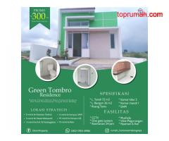 Promo Rumah Murah Tengah Kota Malang Green Tombro 300 Jtan Malang