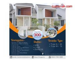 Promo Rumah Murah 300 Jtan Kawasan Elit Villa Bukit Tidar Kota Malang