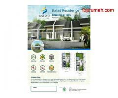 Rumah syariah termurah tanpa bunga cicilan flat