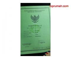 Dijual BU Rumah dgn halaman luas sertifikat SHM