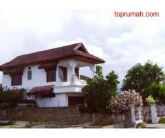 Dijual Rumah 2 Lantai Tanah Luas Lokasi Strategis Pinggir jalan di Kota palu