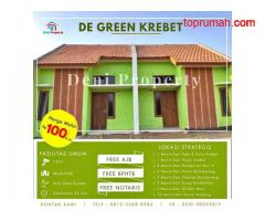 Promo Rumah Subsidi Siap Huni Dekat Pabrik Gula Krebet 100 Jutaan