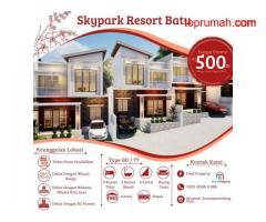 Rumah Villa Murah Di Skypark Resort Dekat Wisata Alun Alun Kota Batu