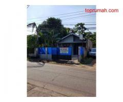 Dijual Rumah Strategis Untuk Usaha di Pinggir Jalan Utama Bekasi