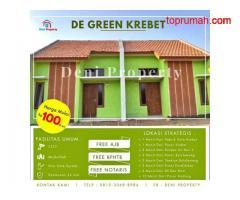 Promo Rumah Subsidi Murah Siap Huni Cicilan Ringan Di De Green Krebet