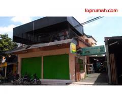 rumah 2 lantai + 2 tempat usaha