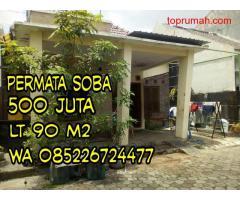 Permata Soba, Kwarasan Sukoharjo Jateng Dijual