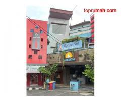 Ruko Dijual Murah 3 Lantai Lokasi Strategis di Sunset Road Legian Bali
